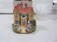 """Bunny Village Jelly Bean Mansion with Box 3&1/4"""""""
