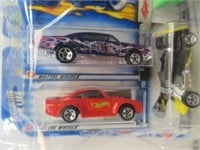 8 Hot Wheel Cars (New in Packages)