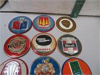 "13 Automobile Metal Plates 3&1/2"""