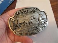 1986 Bladen NE Centennial Belt Buckle
