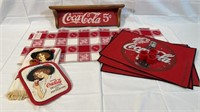 Coca-Cola Table Runner and Décor