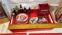 Coca-Cola Tins & 1982 Worlds Fair Serving Tray