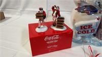 Coco-Cola Christmas set