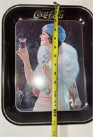 6 - Coca-Cola serving trays and