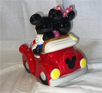Disney Mickey & Minnie Mouse cookie jar