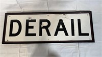 Rock Island and Derail signs