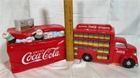 2 Coca-Cola cookie jars