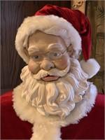 "Animatronic Santa Claus, 56"" tall"
