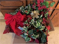 Assorted Holiday Flowers & Greenery