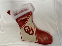"15"" OU Sooners stocking"