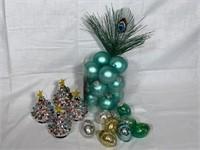 Asst. Christmas tree ornaments