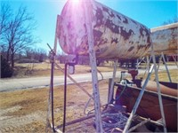 300 gal fuel tank on stand