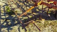 Allis-Chalmers 30' cultivator, harrow, 12'' sweeps