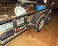 2014 18'X7' bumper trailer,235/80R16,