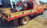 1973 Chevy C30 Flatbed Dually