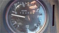 John Deere 4640 2WD w 10' Dozer Blade,
