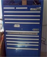Kobart standup chest type tool box. Pioneer stereo