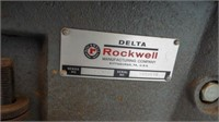 Delta Rockwell drill press on stand, model