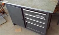 Craftsman tool cabinet 4'w-20 1/2d-33 1/2 t