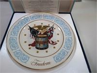 "Vintage AVON Freedom Plate 8&3/4"""