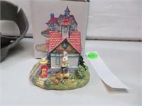 "Bunny Village Rabbit Railway 3"" with box"