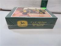 "John Deere 7"" x 9"" 100 piece puzzle"