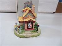 """Bunny Village Bunny Bungalow 3"""" with Box"""