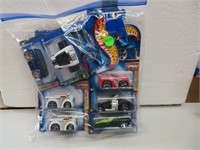 7 Hot Wheels Cars (new in packages)