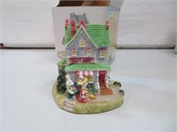 "Bunny Village Hattie Hare's Hat Shop 3&1/4"" with"