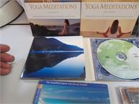 10 CDs Phantom of the Opera, Yoga Meditations,