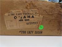 Vintage Kromex Lazy Susan with Box