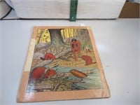 Antique 1916 The Little Indian Hiawatha Story Book