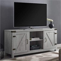 Walker Edison Double Barn Door TV Stand