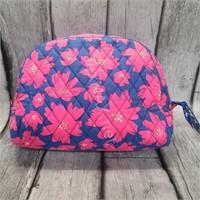 Vera Bradley Makeup Bag In Art Poppies