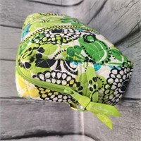 Vera Bradley Makeup Bag In Limes Up