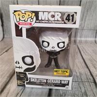 Funko Pop Mcr Skeleton Gerard Way - Hot Topic