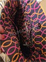 (2) Vera Bradley Bags In Jazzy Blooms