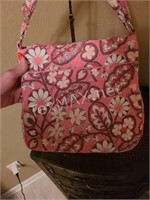 Vera Bradley Crossbody In Plush Pink