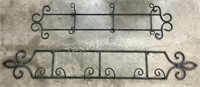 (2) Decorative Metal Wall Decor