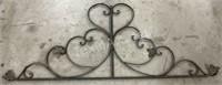 Wrought Iron Heart Wall Decor