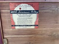 Ed. Roos Antique Cedar Chest