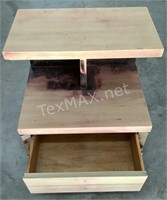 Small Handmade Wood Table