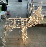 Pre-lit Reindeer Display