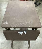 Aluminum Antique Table