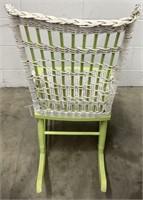 Antique Wicker/wood Rocking Chair
