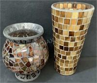 (2) Decorative Vases