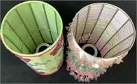(2) Decorative Lamp Shades