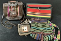 Lot Of (4) Assorted Purses