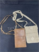 Women's Hats And (2) Small Cross Body Bags