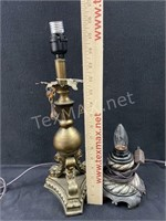 (2) Small Table Lamps